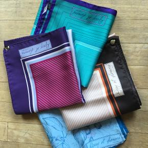 🌸🌸🌸super flotte tørklæder🌸🌸🌸 100% Polyester. Måler ca 76x76cm.. Sælges samlet 300kr..