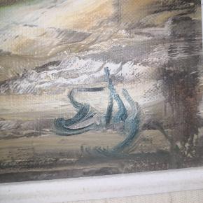 Smukt olie maleri