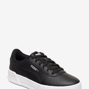 Puma soft foam optimal comfort sneakers i sort læder. Str. 38. Brugt én gang.
