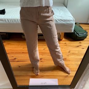 Behagelige hør bukser