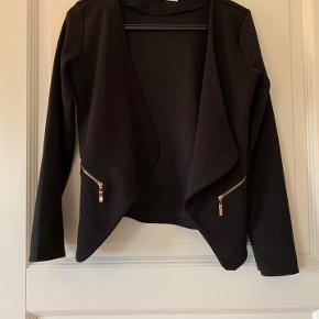 Creme Fraiche cardigan/jakke sort str S