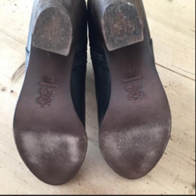 Støvler, str. 39, made in italy, lilla, ruskind