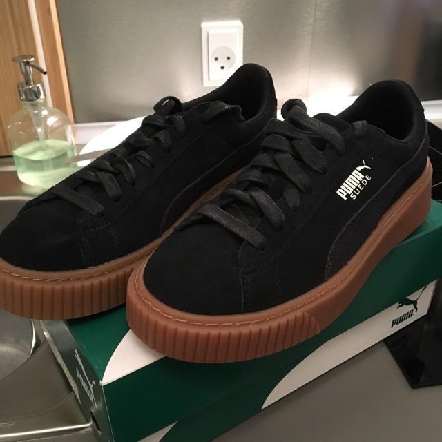 Puma Sneakers Suede Platform Animal BlackSilver