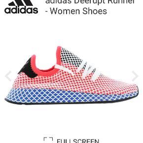 Fede Adidas sko str 36,5. Deerupt Runner Fejler intet. Super fine. Næsten ikke brugt.  Dog lidt svært at tá et ordenligt billede af dem 😉