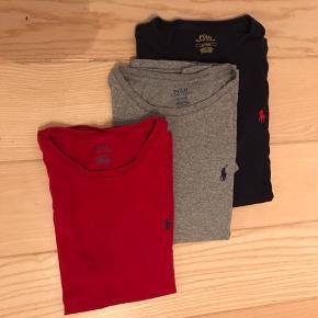 3 lækre t-shirts som holder fin form og ikke brugt ret meget - min søn er vokset ud af dem