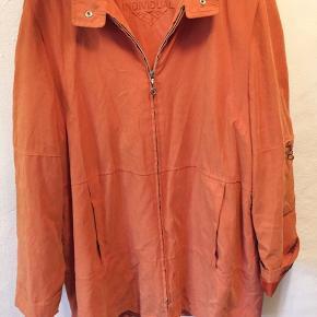 Retro jakke i orange 🌸