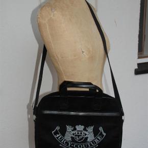 Sort velour computer taske. 13 tommer ( en lille 15 tommer kan være i den aa954c2e5a517