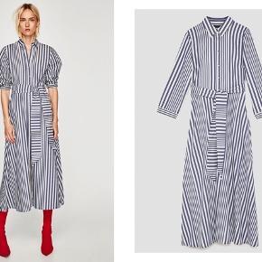 BYD  Blå stribet kjole fra Zara i str. xs.  Aldrig brugt.