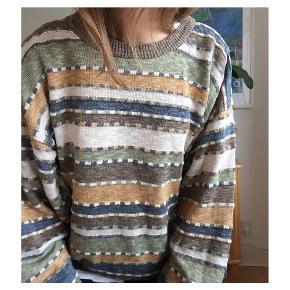 Cool herre vintage trøje  70% bomuld 30% akryl Str 50 i herretøj Fitter xs (mig på billederne), small og medium