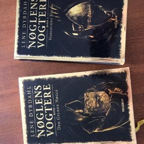 Nøglens Vogtere, bind 1 & 2. Fantasy/fiktion. Fra ca. 8 år. Aldrig læst.