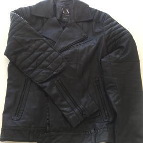 Armani Exchange skind- & læderjakke