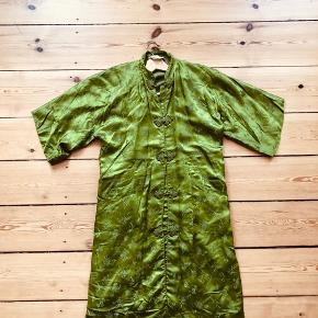 Super flot grøn vintage grøn kimono
