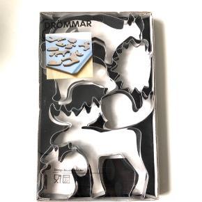 """IKEA """"Drömmar"""" design Monika Mulder. Kageforme sæt med seks dyr i følgende motiver: elg, egern, snegl, bjørn, pindsvin & ræv 🐿🐌🐻🐻🦔🦊 OBS: De er et fejlkøb og dermed ubrugte   Byd gerne kan både afhentes i Århus C eller sendes på købers regning 📮✉️"""