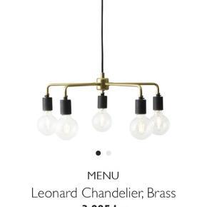 Lampe sælges grundet flytning.  Inklusiv pærer :-)