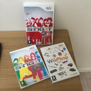 Nintendo Wii spil. 50 kr. Pr. stk. Brugt, men i fin stand.