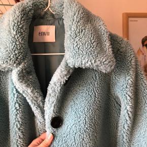 Envii jakke i flot blå - dejlig varm efterårsjakke 🍂🍁💃🏼