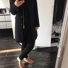 Sand Copenhagen cashmere uld frakke
