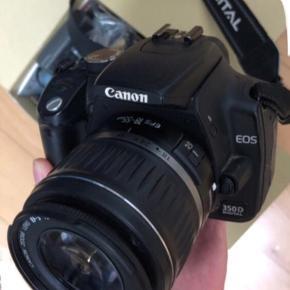 Kamera Canon EOS 350D  Fungerer som det skal