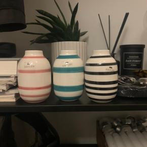 Omaggio små vaser købt som sæt og derfor sælges som sæt