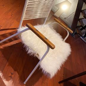1 stk stol fra 70 erne med træ armlæn   Kolding midtby