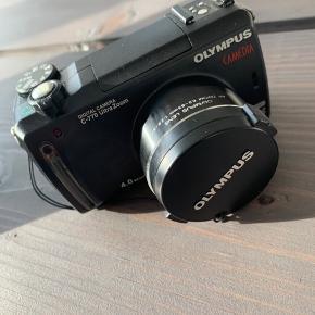 Olympus camedia digital camera c-770 Ultra zoom Taske, fjernbetjening, ekstra batteri og oplader hertil medfølger