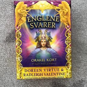 Orakelkort Englene Svarer af Doreen Virtue  Aldrig brugt.