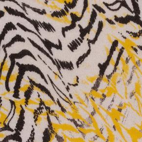Helt nyt Trinangle 100% cashmere tørklæde fra Lala Berlin i størrelse M. Smukkeste farvespil med sort, gul og hvid.  Aldrig været brugt og fremstår som nyt, uden mangler eller tegn på slid.