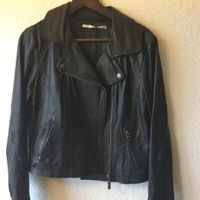 Classic cut leather jacket , Part Two . New price was 2600