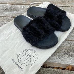 Cosy Concept Fur sandaler