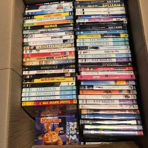 Kasse dvd film - både børne og voksne, en blandet landhandel - nogen nye