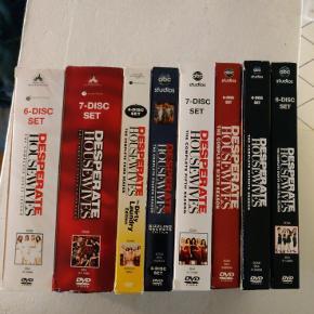 Desperate Housewives serien. Alle 8 sæsoner.