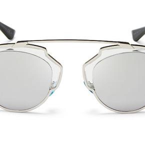 Dior So Real solbriller i sølv. Som nye.   Kvittering og etui medfølger.   Købt på Otticanet i 2015  Nypris: 3209 kr Sælges for 2000 kr