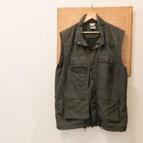 Vintage vest str xl