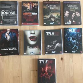 Diverse dvd'er sælges, spørg for mere info og pris