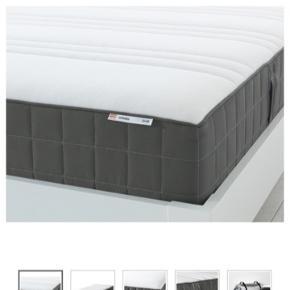 Springmadras 160x200 fra IKEA - købt for 2 år siden og er brugt men fejler intet. Altid blevet brugt med en topmadras ovenpå. Nypris 2.000 kr.   Sælger da jeg skal have en mindre seng   Sendes ikke og bytter ikke 🌞