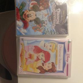 Tegnefilm. Begge Mickey mouse dvd er stadig i papir