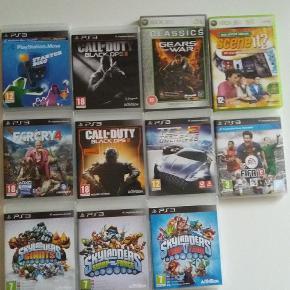Flere spil til PlayStation 3.Priser min. 50-100 kr  pr. stk.