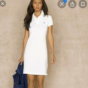 Ralph Lauren polo kjole, størrelse S  Ny med mærke Farven er krid hvid.