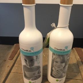 Shampo og body wash til børn.   Har fået disse i gave, men sælger dem da vi har en del i forvejen. Nyprisen er 219,- pr. stk. Og jeg sælger dem samlet til 200,- O'Right er kendt for deres fantastiske produkter til sensitiv hud, der alle er eco certificerede. Begge er 400 mL.