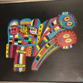 Akryl maleri 60x80   BYD!