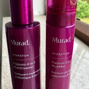 Prebiotic 4-i-1 MultiCleanser 150 ml: Hydratiserende rensemiddel, der smelter væk makeup, snavs og overskydende olie.  Prebiotic 3-i-1 MultiMist 100 ml: Hjælper med at prime og indstille makeup  HELT NYE  Fast pris 250 kr
