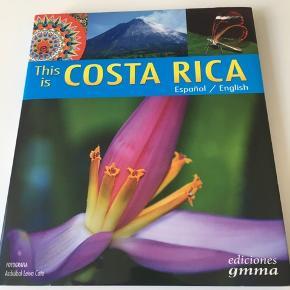 Billedbog over Costa Rica på engelsk og spansk.