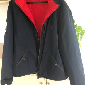 Smart vendbar jakke blå / rød - fine detaljer ;-))