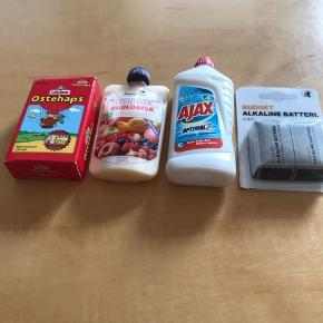 Lidt overskud fra mini marked fra Bilka/Føtex sønnike ønsker at sælge. 10 kr stykket og sendt med dao.