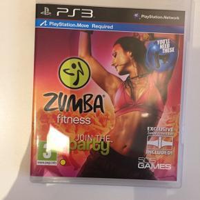 PS3 zumba sælges uden bæltet
