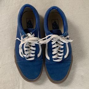Blå sneakers fra Vans i str 41 - brugt få gange.