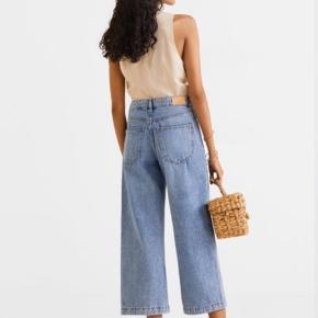 Culotte jeans fra Mango købt i Zurich i foråret. Brugt få gange. True to size. Nypris 400,- Bytter ikke