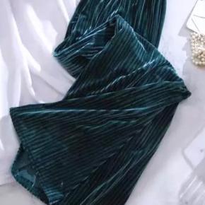 Velour fløjlsbukser