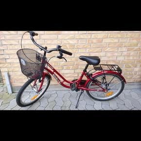 """Flot stand 20"""" pigecykel ca 6-8 år 3 gear Uden lås Puch sweet"""