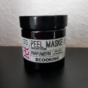 Ny og ubrugt peelmaske fra Ecooking.
